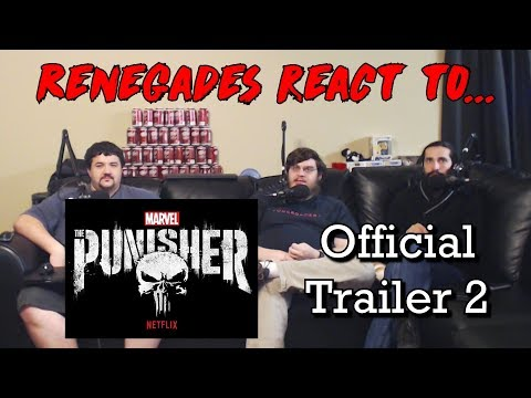 Renegades React to... Netflix Punisher - Official Trailer 2