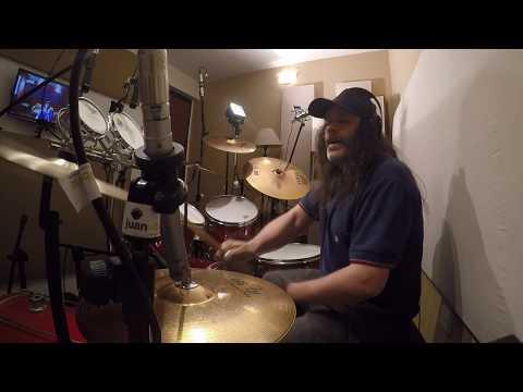RIPIO - Grabacion de Baterias (Drum recording) Track 6 - 2019