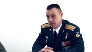 Наш город  - Герой России, Полковник запаса Сергей Воронин