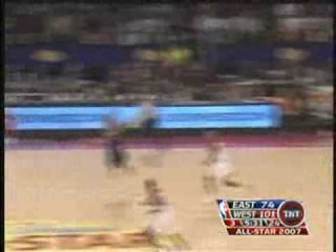 2007 NBA ALL STAR GAME HIGHLIGHTS