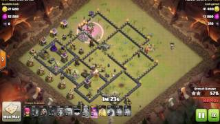 2016 - UPDATED GoVaHo - THE BEST TH9 Attack Strategy  for Clan War | Best Attack 2016