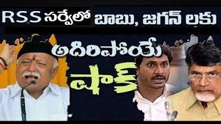 BJP RSS Survey Shoking Result  in Andhra Pradesh 2019 elections  ll 2day 2morrow