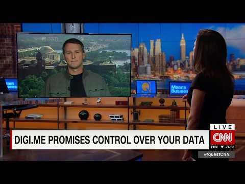 Digi.me's Shane Green on CNN International's Quest Means Business
