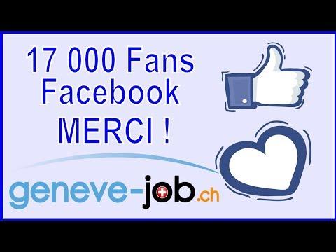 17000 fans facebook geneve-job.ch   GENEVE EMPLOI SUISSE