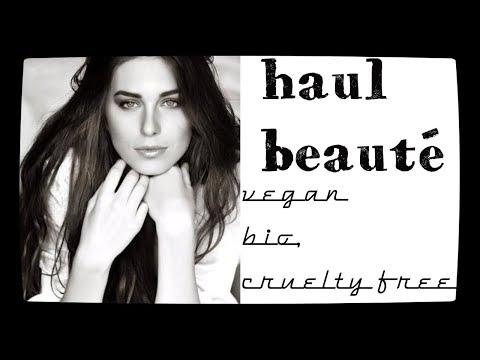 haul beauté vegan, bio et cruelty free !