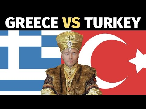 GREECE VS TURKEY (10 biggest differences?)