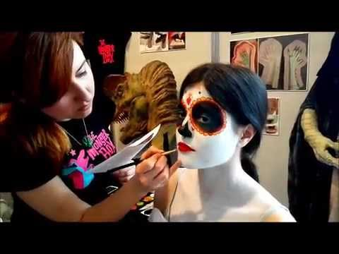 la catrina the book of life make up youtube. Black Bedroom Furniture Sets. Home Design Ideas