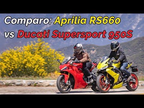 Download 2021 Aprilia RS660 vs. Ducati Supersport 950S