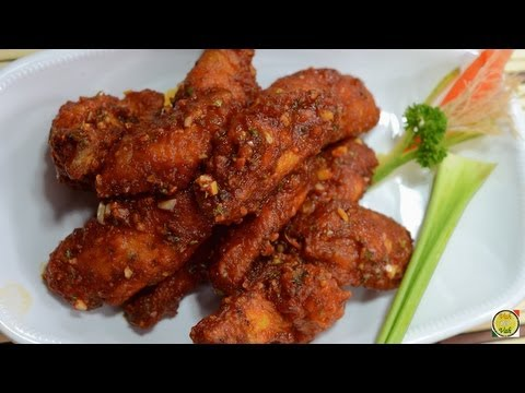 Buffalo Wings - Crazy Sauce - By Vahchef @ Vahrehvah.com