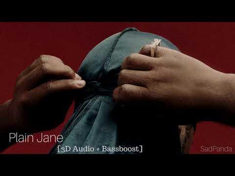 A$ap Ferg - Plain Jane (3D Audio Use Headphones)