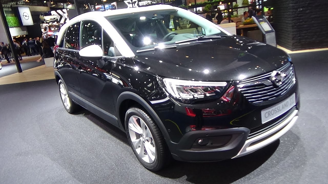 2018 opel crossland x innovation exterior and interior iaa frankfurt 2017 youtube. Black Bedroom Furniture Sets. Home Design Ideas