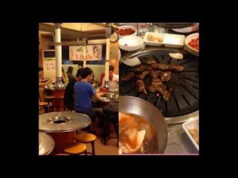 Restaurants around SKKU, Suwon Campus - part 1