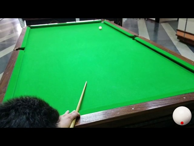 Puxadinha na bola branca
