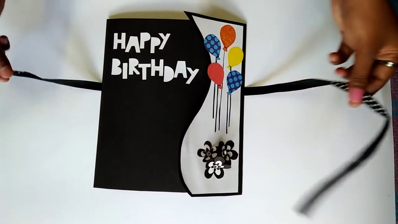 Birthday Greeting Cards for Friends Handmade Birthday Gift Card