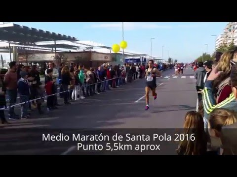 Medio Maratón de Santa Pola 2016. Campeonato de España