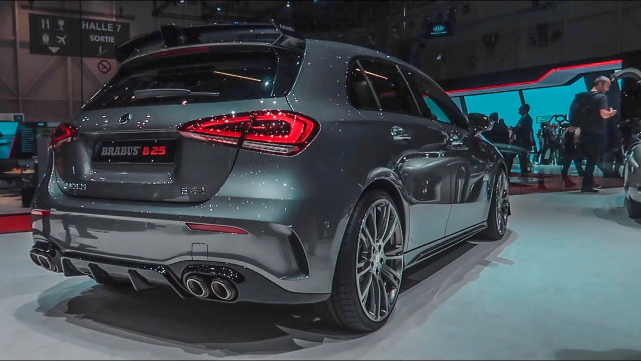where was the new 2019 a45s amg   instead a b25 brabus