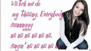 Alyssa Shouse - Overnight Celebrity (OnScreen Lyrics)