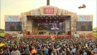 Праздничный концерт 9 мая 2015 на Поклонной горе. ТВЦ
