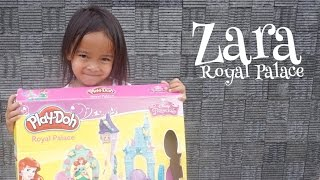 Zara bermain Playdoh Royal Palace featuring Disney Princess 😍😍😍 fun play video