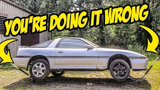 How To Properly Jack Up Your Car Without DESTROYING It (And Why You're Doing It WRONG)