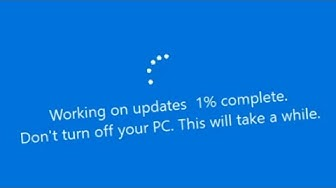 Fake Windows Update prank program