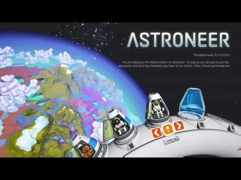 Space is cool!!! ASTRONEER Gameplay #1