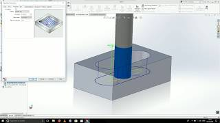 SolidCAM tutorial 1