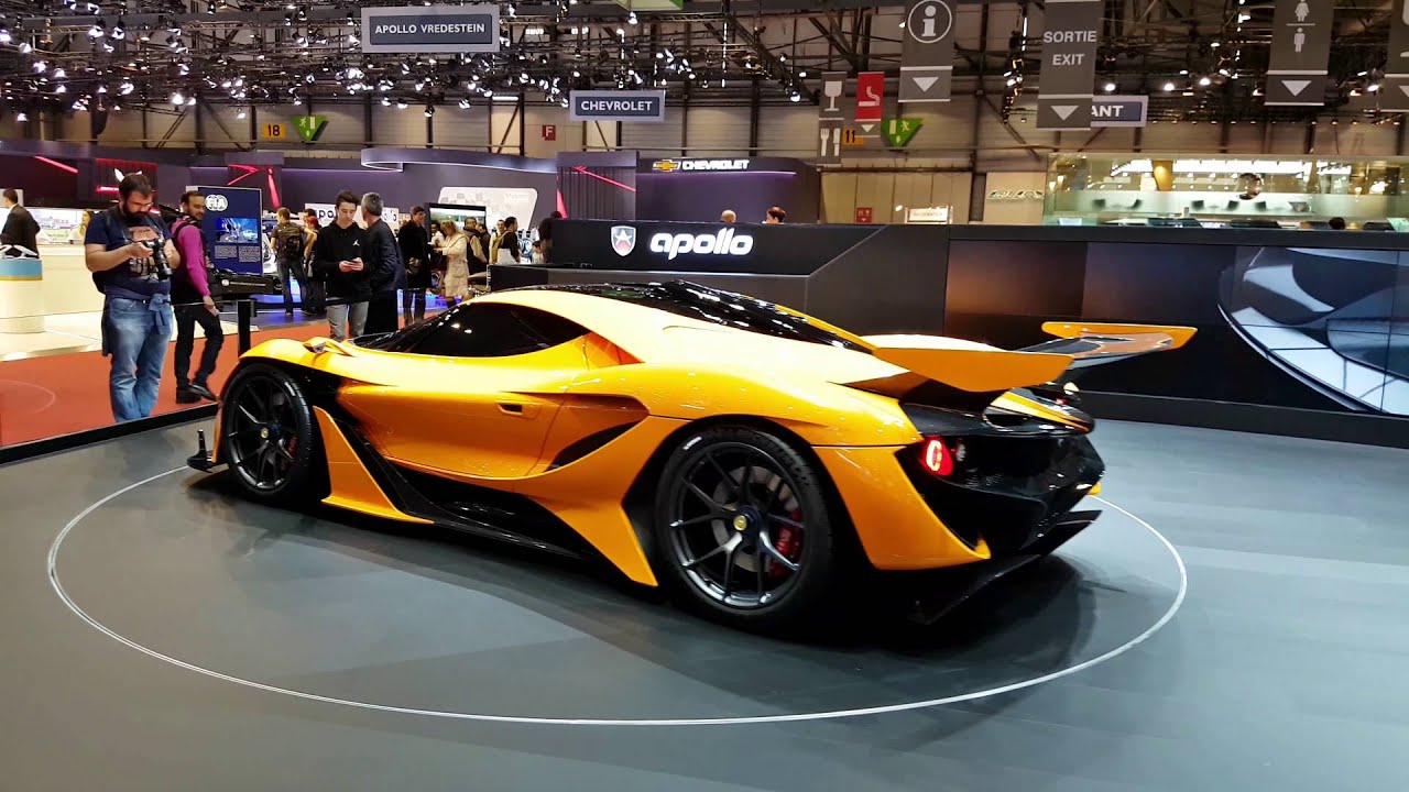 Awesome 2016 Apollo Arrow New Gumpert 1000hp 4k