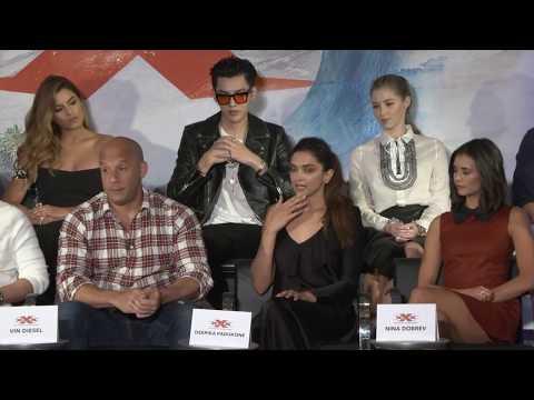 xXx Return of Xander Cage LA PRESS CONFERENCE - Vin Diesel, Nina Dobrev, Deepika Padukone fragman