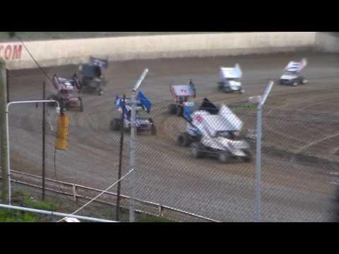 305 Sprint Car Amain @ 34 Raceway 04/15/17