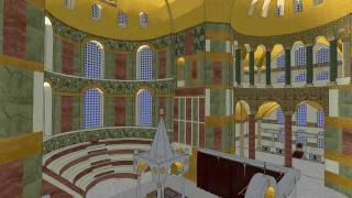 Three-dimensional reconstruction of the Hagia Sophia's byzantine sanctuary
