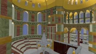 Three-dimensional reconstruction of the Hagia Sophia