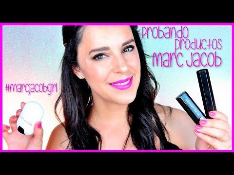probando-productos-de-marc-jacobs-#marcjacobsgirl-|-silvia-quiros-makeup