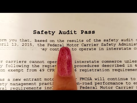 How To Pass Your New Entrant Dot Safety Audit! Step By Step Instructions For Truckers!