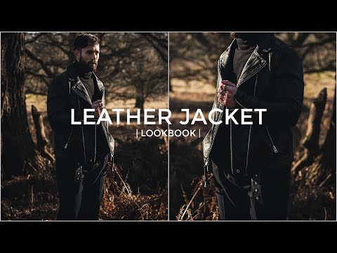 HOW TO STYLE A LEATHER JACKET | Lookbook | 3 Outfit Ideas | Daniel Simmons