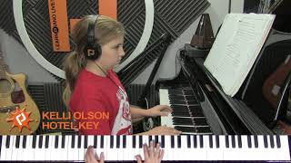 Hotel Key piano cover by Kelli Olson Video