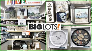BIG LOTS FARMHOUSE DECOR SHOP WITH ME HOME DECOR 2021