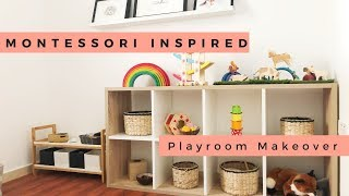Montessori Playroom Makeover & Tour