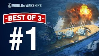 Best Of 3! The Pilot | World of Warships