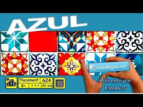 """Vidéorègle Jeu de Société """" Azul """" par Yahndrev (#624)"""