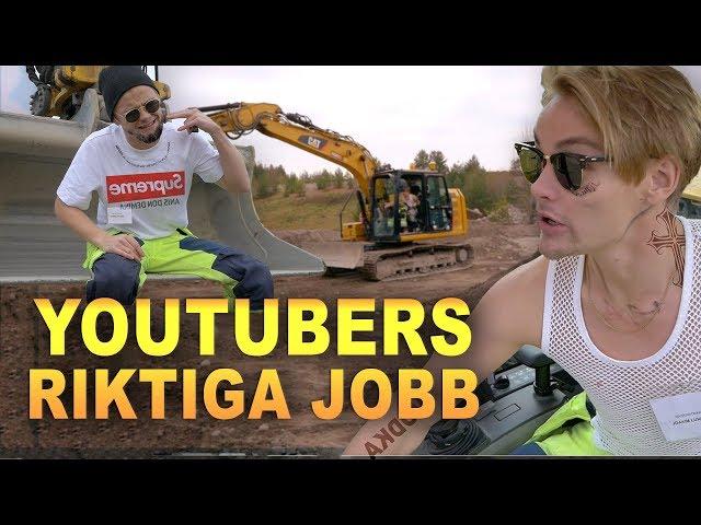YouTubers riktiga jobb!