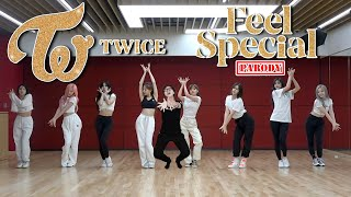 Gambar cover 【KY】TWICE — Feel Special DANCE COVER(Parody ver.)