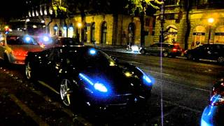 The first Ferrari 458 Spider in the world! Acceleration and Start-Up Sound
