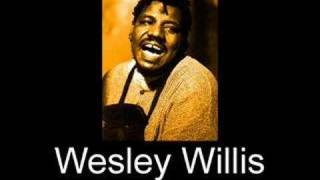 Wesley Willis - I Whipped Spiderman's Ass