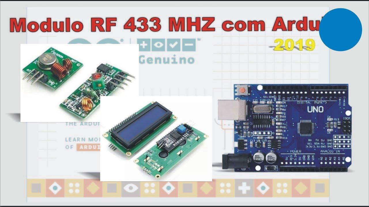 Modulo Rf 433 Com Arduino