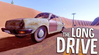 Lost In The Desert With An Old Rustbucket - Driving Survival Game - The Long Drive
