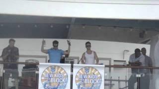 NKOTB Cruise 2011 - Sail Away Party - Jordan & Joe