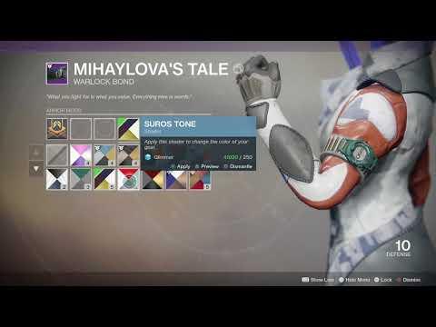 Destiny 2 Warmind Get Mihaylova's Tale