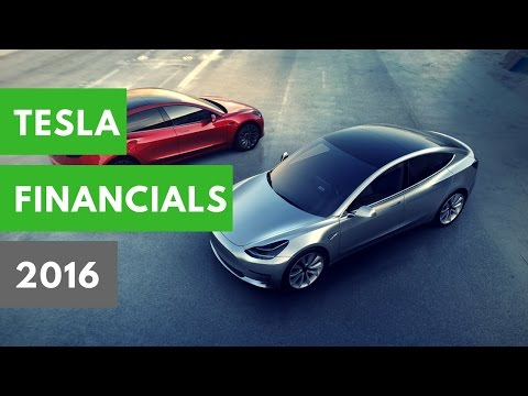 The Tesla Economy: 2016 Financials, Model 3 Updates, Elon Musk