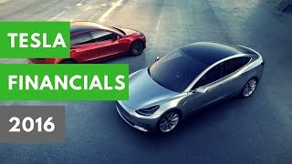 The Tesla Economy: 2016 Financials, Model 3 Updates, Elon Musk